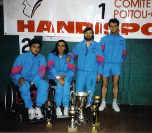 Handisport équipe
